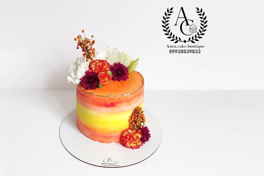 کیک خانگی آئورا