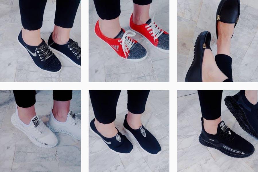 کفش زنانه پرند